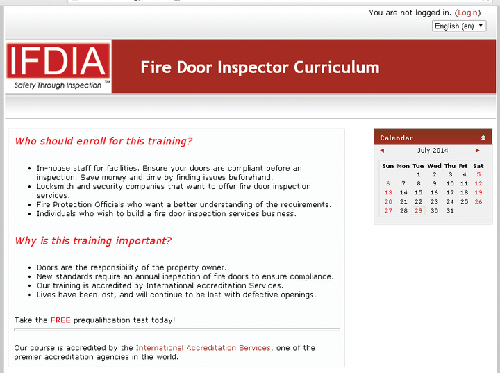 Fdia Launches Swinging Fire Door Inspection Online Course Locksmith Ledger